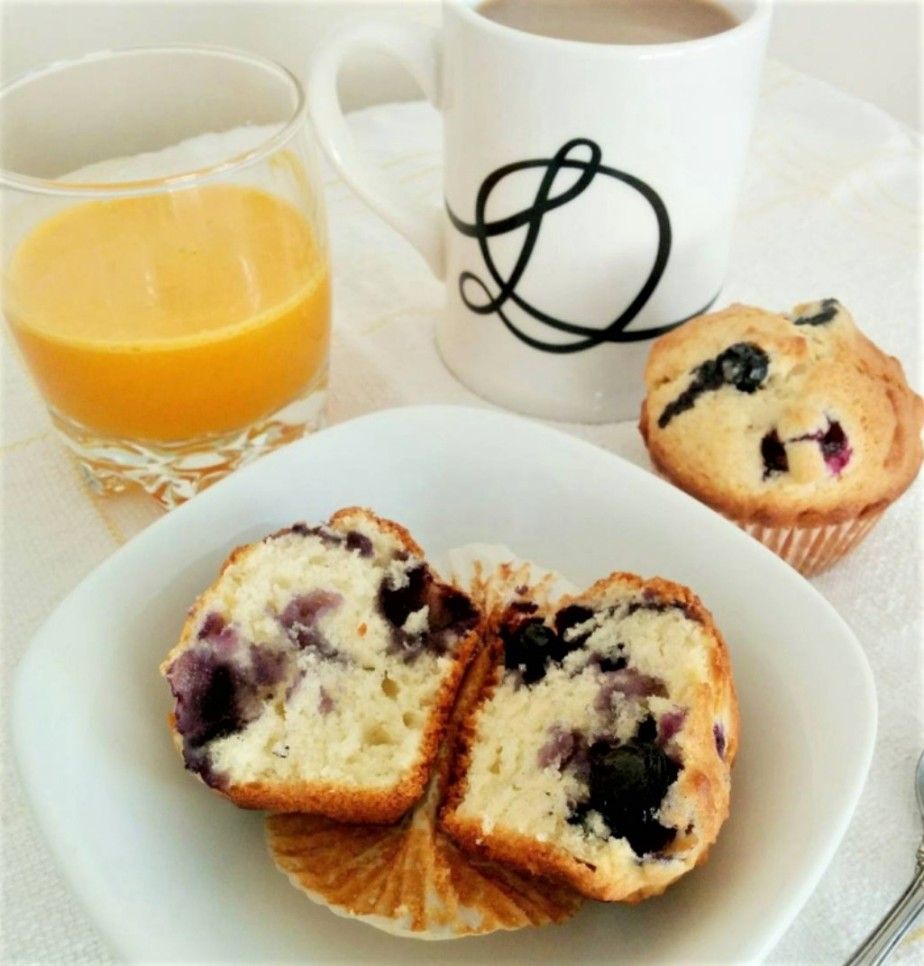 blueberry muffins _a